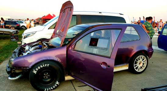 volkswagen golf 4 drag racing